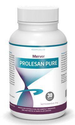 suplement diety Prolesan Pure opakowanie 30 kapsułek